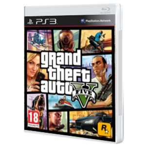 Grand Theft Auto V ( GTA 5 ) - PS3